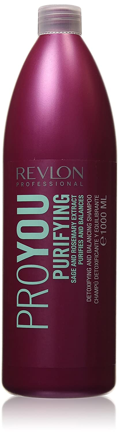 Revlon Profesional - Pro You Purifying - Champú detoxificante y equilibrante - 1000 ml Universal Beauty Market 8432225014296