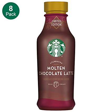 Starbucks Iced Latte Molten Chocolate 14 Fl Oz Pack Of 8