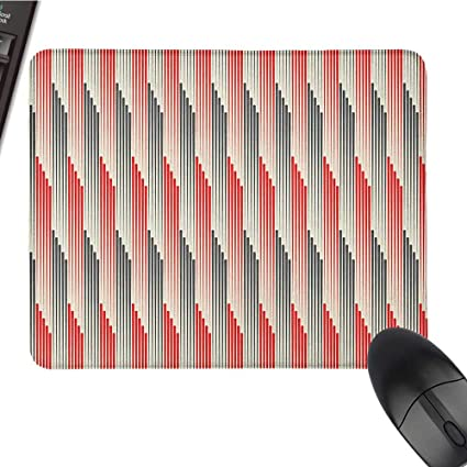 Amazon com : Funny Mouse pad Abstract, Retro Style Bicolor
