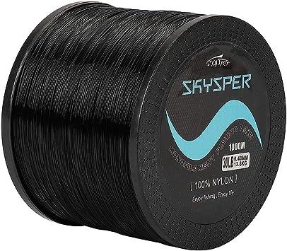 KPOLY Angelschnur Nylon 500m Neue Markenserie Super Strong Monofilament Nylon Angelschnur