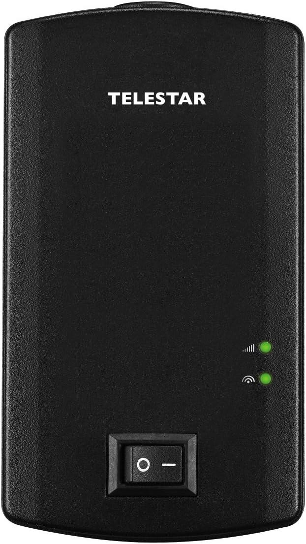 Telestar Digiporty T2 Terrestre Alta Definición Total Negro TV Set-Top Boxes - Reproductor/sintonizador (Terrestre, DVB-T,DVB-T2, 1080i,1080p, 4:3, ...