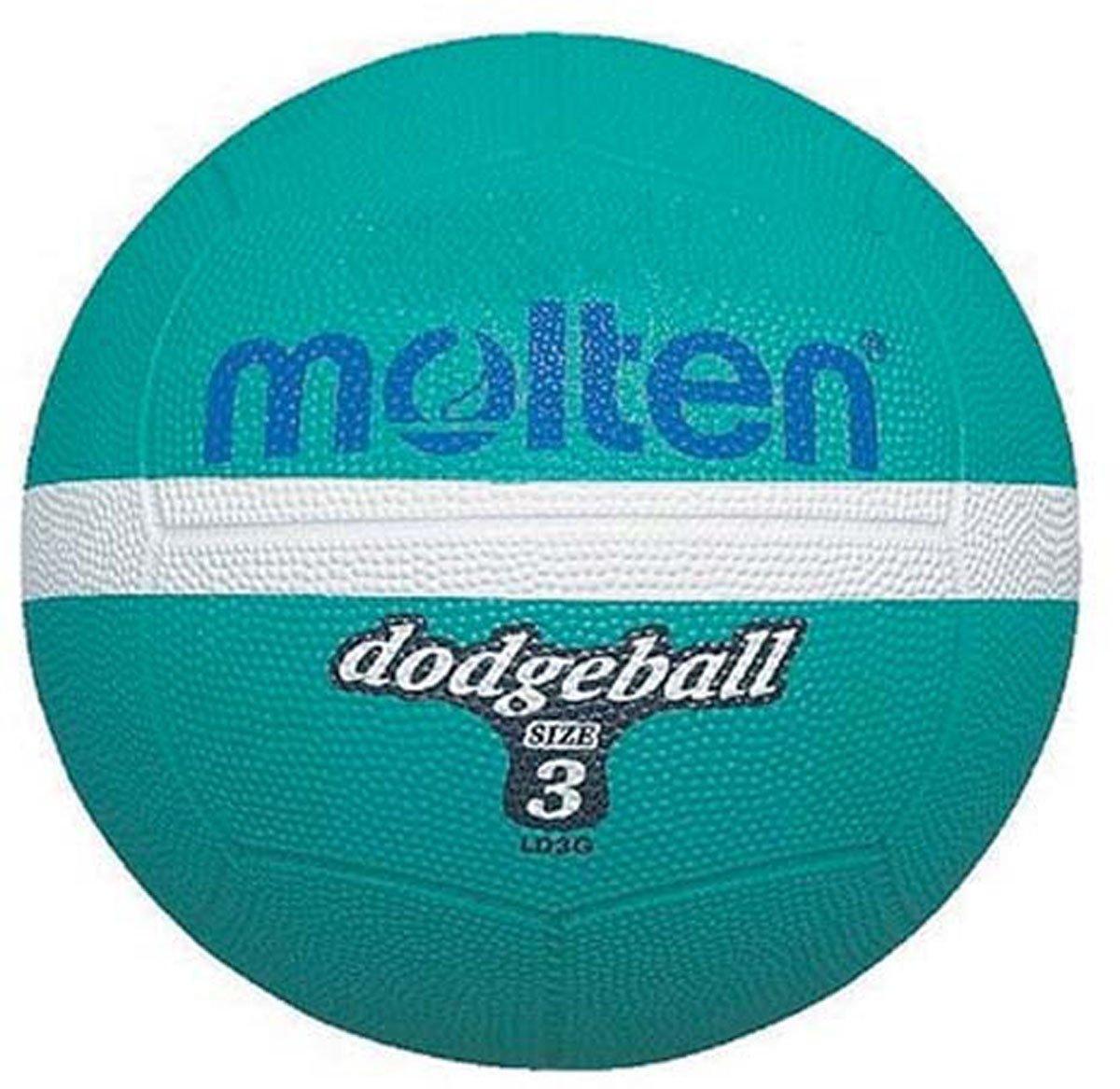 Molten Rubber Upper Strong Grip Dodgeball Size 3