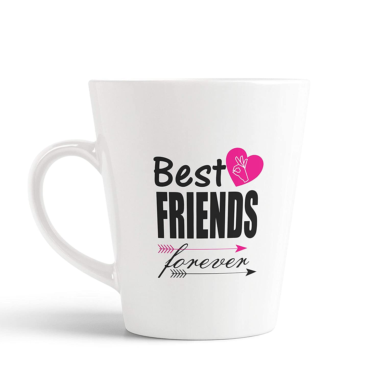 buy ikraft friendship quotes conical coffee mug best friends
