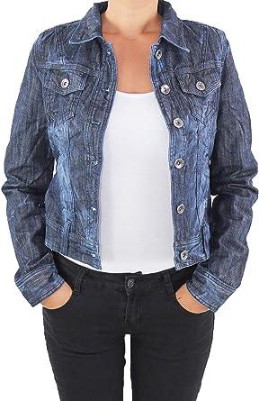 Sotala damska kurtka dżinsowa kurtka damska denim stretch dżinsy kurtka niebieska: Odzież