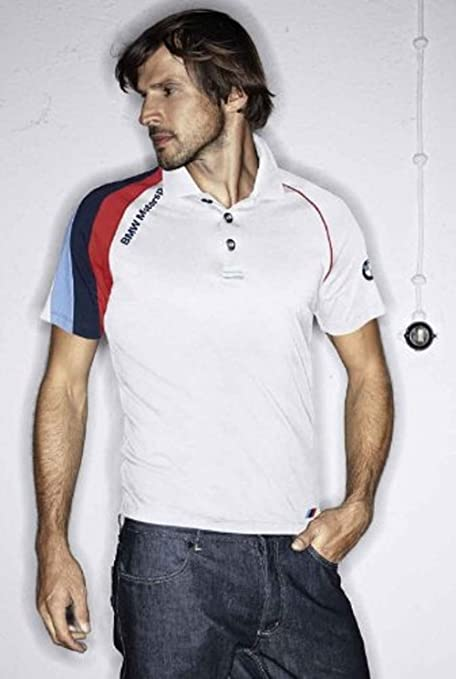BMW Motorsport Polo Camiseta de/Blanco Blanco M: Amazon.es: Coche ...
