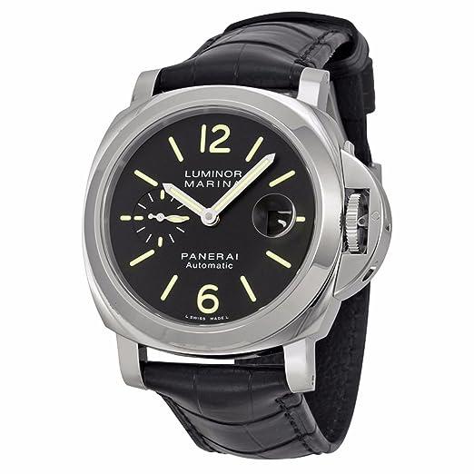PANERAI Luminor Marina Automatic Acciaio - Reloj (Reloj de pulsera, Masculino, Acero inoxidable