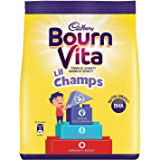 Cadbury Bournvita Little Champs Pro-Health Chocolate Health Drink, 500g Refill Pack - (Pack of 2)