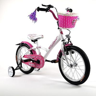 '16ros Ros Vélo pour enfant 16pouces de vélo pour enfant enfant Roue Bike Jeu de vélo