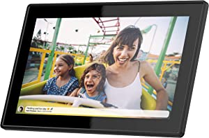 Feelcare 15.6 Inch 16GB WiFi Picture Frame with FHD 1920x1080 IPS Display,Touch Screen,Send Photos or Small Videos from Anywhere in The World, Wall Mountable, Portrait and Landscape(Black)