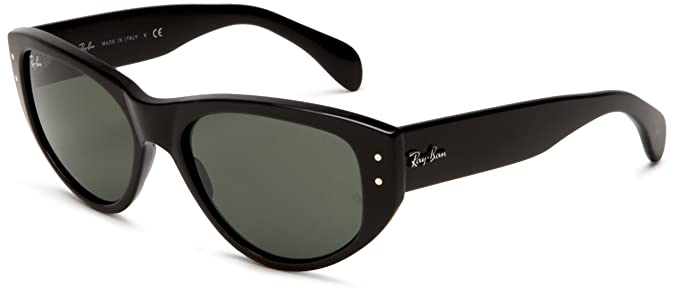 a803b9ad7d Image Unavailable. Image not available for. Colour  Ray-Ban Women s Vagabond  Rectangular Sunglasses ...