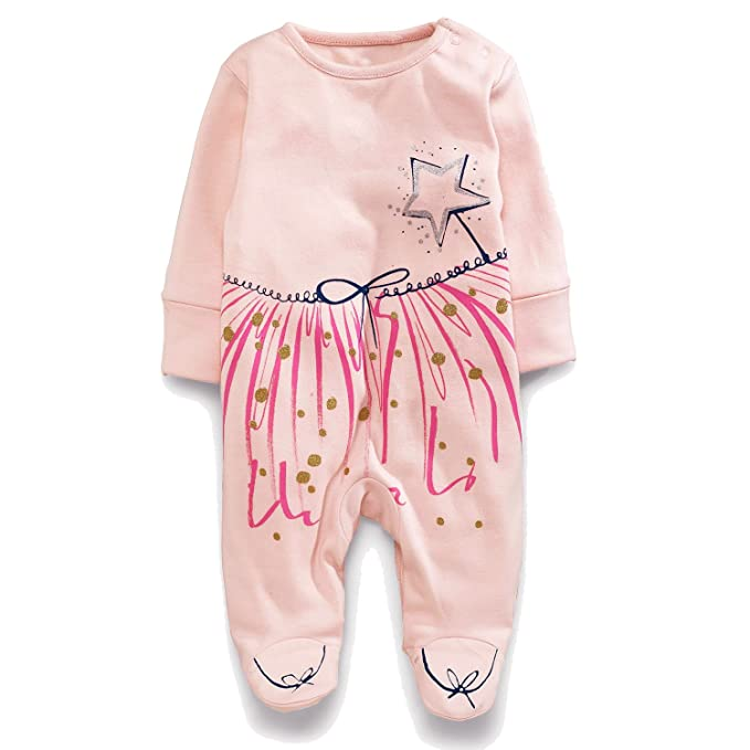 Amazon.com: Minilove - Juego de ropa de manga larga bordada ...