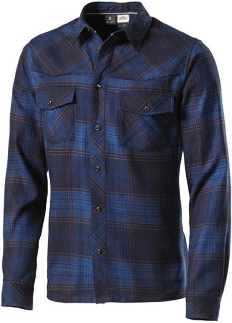 McKinley Hombre Montaña Camisa Gordon Manga Larga, Color Marine (300), tamaño XXXL: Amazon.es: Deportes y aire libre