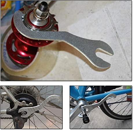 Bicycle Bike Lock Ring Remover Bottom Bracket Pedal Spanner Wrench  Repair New