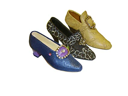 504437ed216ea GreatIdeas™ 3x Collectable Miniature Model Shoes *Hand Painted* - Make for  a lovely GIFT or just treat yourself and your home!