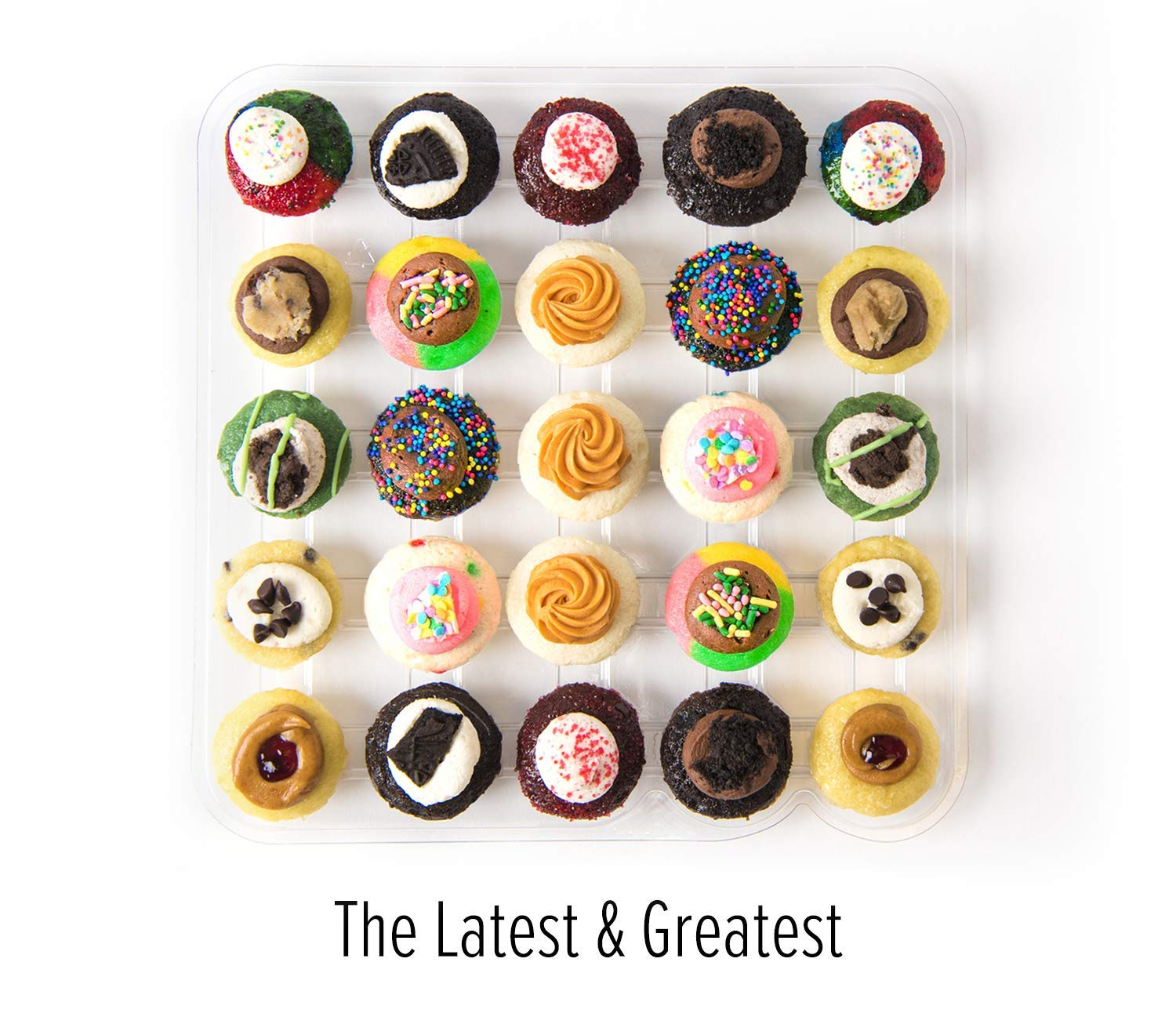 Amazon.com : Baked by Melissa Cupcakes Gift Box + The Latest & Greatest - Assorted Bite-Size Cupcakes Gift Box : Grocery & Gourmet Food