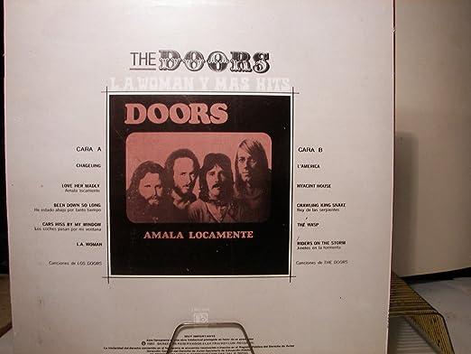 THE DOORS - L.A.WOMAN - AMALA LOCAMENTE - MEXICO1981 - VINYL: THE ...