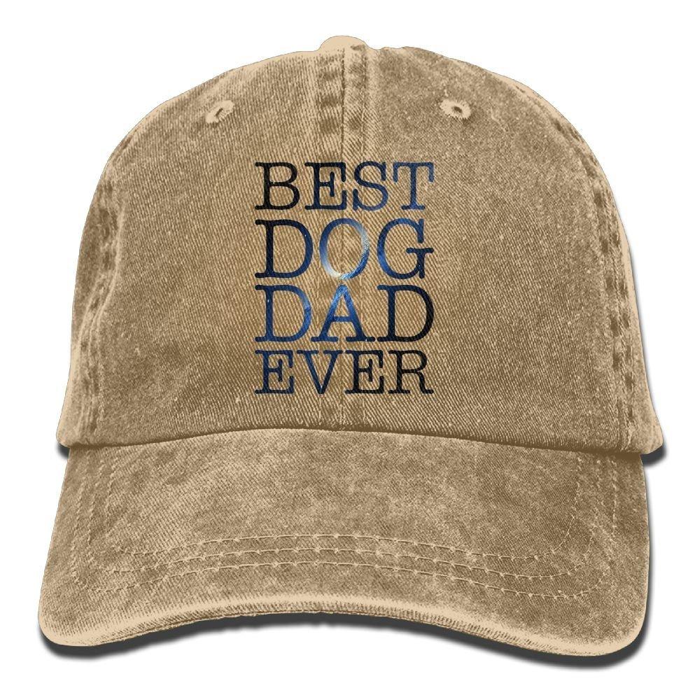 Lcuce Best Dog Dad Ever Unisex Denim Baseball Cap Adjustable Strap Low  Profile Plain Hats Outdoor Casquette Adjustable Sunbonnet Natural   Amazon.ca  ... e1ba31614f0