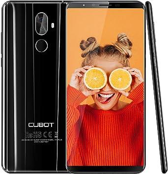 Cubot X18 Plus (2018) Dual de Nano SIM Smartphone (15,21 cm (5,99 ...
