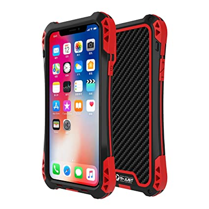 Amazon.com: Carcasa para iPhone X, R-JUST [serie Amira ...
