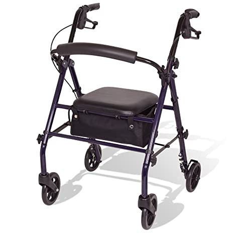 Surprising Buy Carex Steel Rollator Walker With Seat And Wheels Gamerscity Chair Design For Home Gamerscityorg