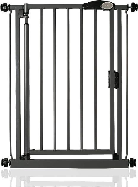 Bettacare Auto Close Stair Gate Range (68.5cm 75cm, Slate Grey)