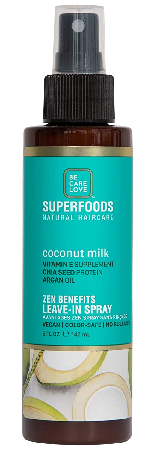 Be Care Love SuperFoods Coconut Milk All-In-One Leave-In Miracle Mist 5 oz.