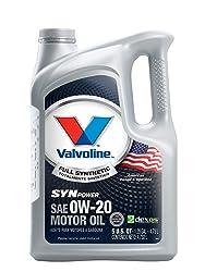 Valvoline SynPower 0W-20 Full Synthetic Motor Oil