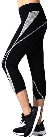 Amazon.com: Neonysweets Womens Capri Workout Pants Yoga Pants ...
