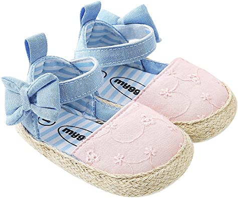 BOBORA Baby Girl Sandals, Bow Knot