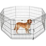 """Pet Trex 24"""" Playpen for Dogs Eight 24"""" Wide x 24"""" High Panels"""