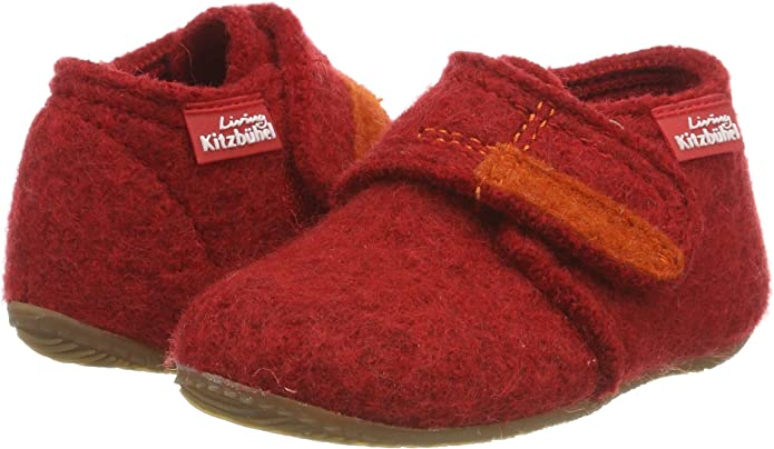 Chaussons Mixte Enfant Living Kitzb/ühel 1609-Velcro Uni
