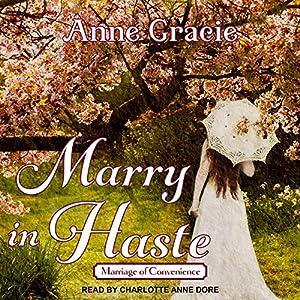 Marry in Haste Audiobook