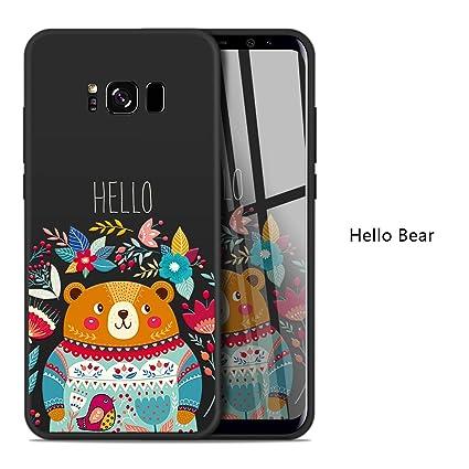 Amazon.com: Carcasa para Samsung Galaxy S8 Plus, diseño de ...