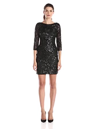 Cocktail dresses long sleeve sequin cocktail