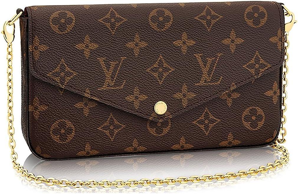 Louis Vuitton Monogram Canvas Pochette Felicie Wallets Handbag Clutch Article:M61276
