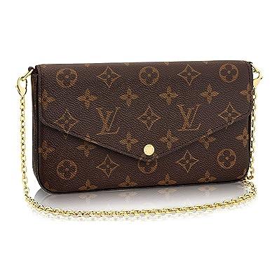 fb5c3de62 Louis Vuitton Monogram Canvas Pochette Felicie Wallets Handbag Clutch  Article:M61276: Handbags: Amazon.com