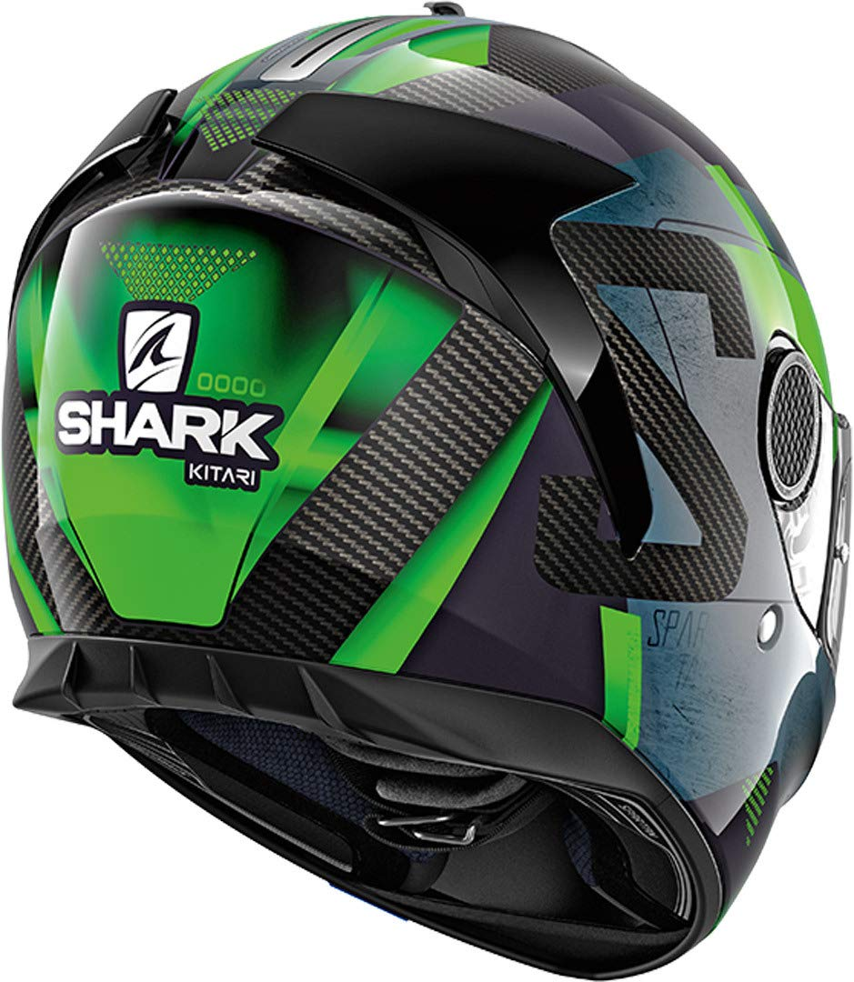 Motorcycle helmets Shark SPARTAN CARBON 1.2 KITARI DOA L Noir//Orange