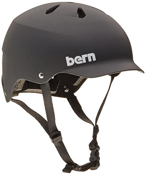 Bern Watts Summer Hard Hat, Matte Black, Small