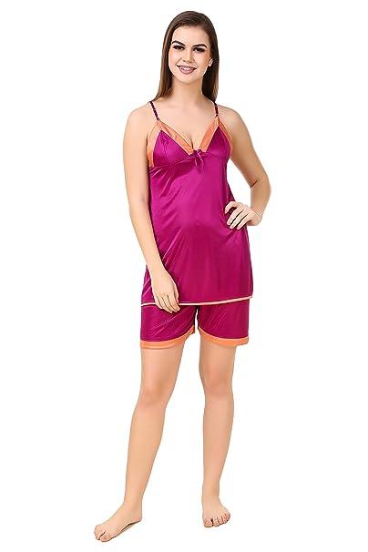 b26c914ca9 ROSE VANESSA WOMEN SOLID NIGHT SUIT price at Flipkart