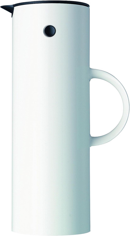 Jarra térmica minimalista Stelton, 1 Litro, color blanco polar