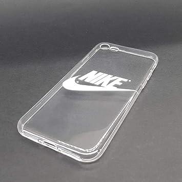 Continente Brutal desinfectante  Funda Carcasa para movil de Gel o Silicona Carcasa Nike Logo de Marca Retro  diseño Blanco sobre Transparente para iPhone 7 Plus: Amazon.es: Electrónica