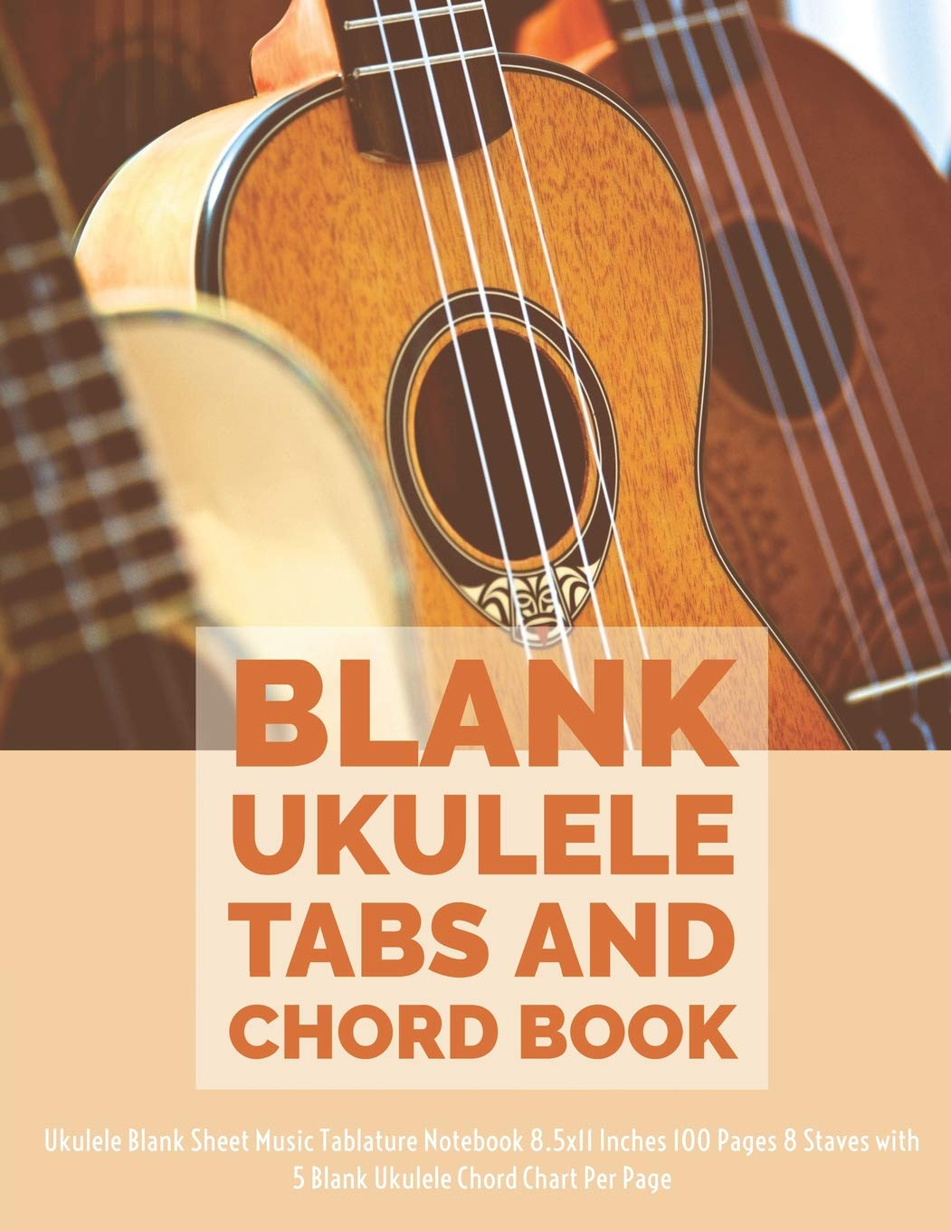Amazon com: Blank Ukulele Tabs and Chord Book: Ukulele Blank