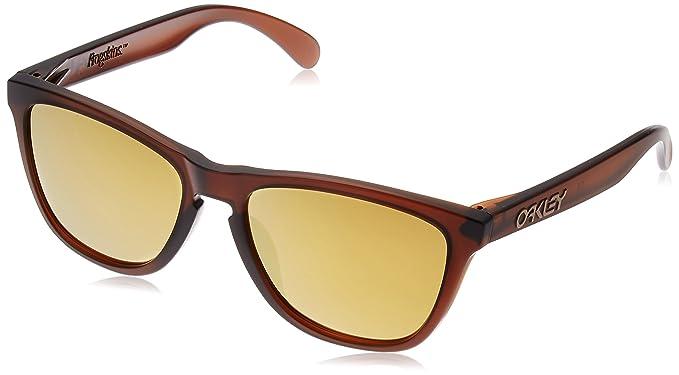 Oakley Frogskins (A) 924504 54, Gafas de Sol para Hombre, Marrón (