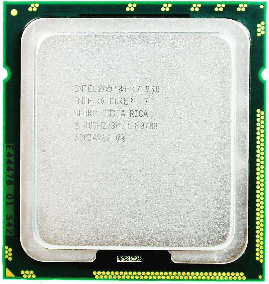 Intel Core I7 930 Intel C Intel Core I7 930 Processor 2.8GHz Quad Core LGA 1366 Processor Desktop CPU Warranty 1 Year