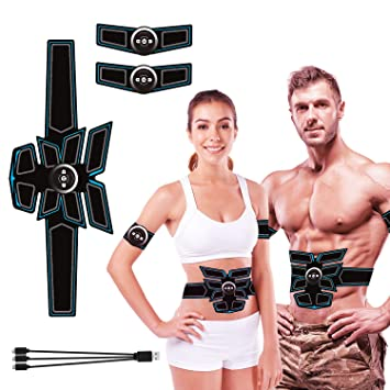 Fitness, Running & Yoga Equipment Abdominal Exercisers Rechargeable Smart Abs Stimulator Fitness Gear Muscle Abdominal toning Trainer