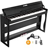 LAGRIMA 88 Key Weighted Heavy Hammer Digital Piano w/Bluetooth&MP3 Function