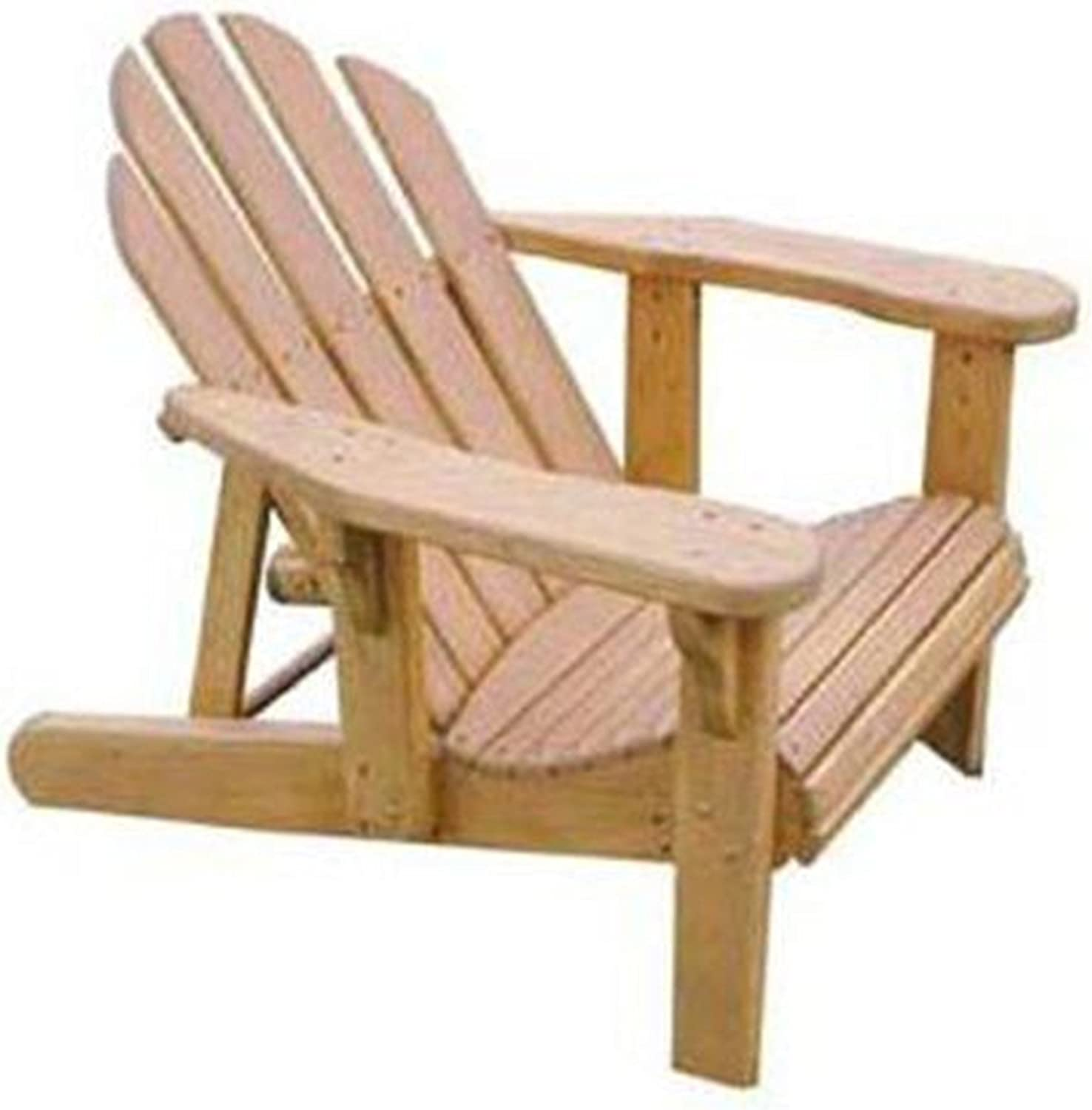 Woodworking Project Paper Plan to Build Adjustable Adirondack Chair - Outdoor Furniture Woodworking Project Plans -