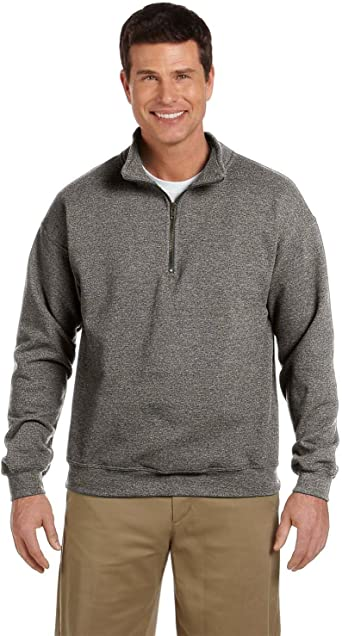 XXX-Large Gildan Adult Vintage 1//4-Zip Cadet Collar Sweatshirt Meadow