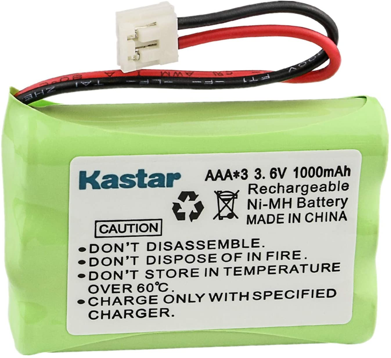 Kastar Cordless Phone Battery for V Tech 89-1323-00-00 80-1323-00-00 80-0099-00-00 8900990000 27910 Vtech ia5829 ia5839 ia5845 ia5849 ia5851 ia5859 ia5875 i6717 i6720 i6725 i6727 i6757 i6735 i6763