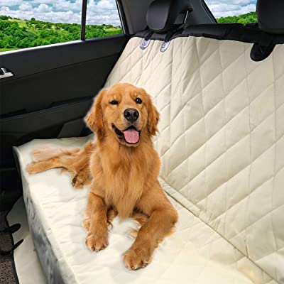Pet Magasin Luxury Water-Resistant Pet Seat Cover & Scratch Proof Non-Slip Backing